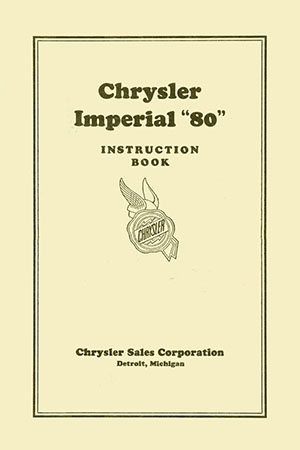 1928 Imperial Service Manual