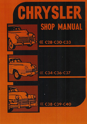 Chrysler And Imperial Manuals - Chrysler shop
